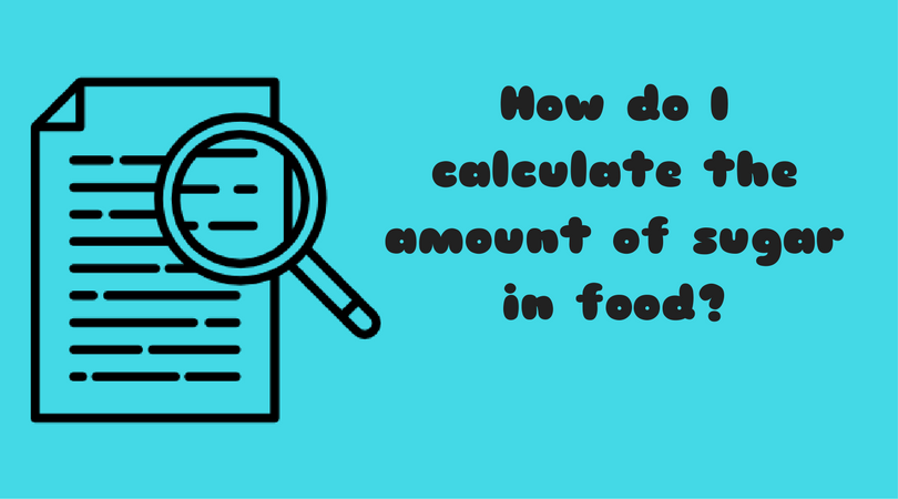 Calculating the Amount of Sugar in Food