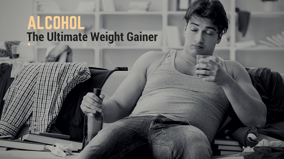 Alcohol: The Ultimate Weight Gainer